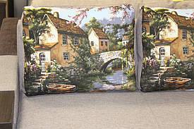 Угловой диван в эксклюзивной ткани 3