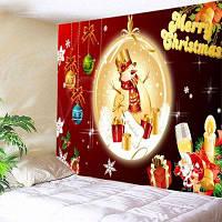 Настенные витрины Рождественские блесны Снеговик Печать Гобелен u0448u0438u0440u0438u043du043059u0434u044eu0439u043cu043eu0432*