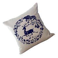 Декоративная накладка для подушки для подушки из мягкой подушки Синий