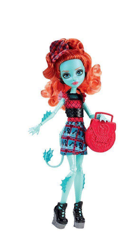 Кукла Монстер Хай Лорна МакНесси серия Монстры по обмену Monster High Lorna McNessie Monster Exchange