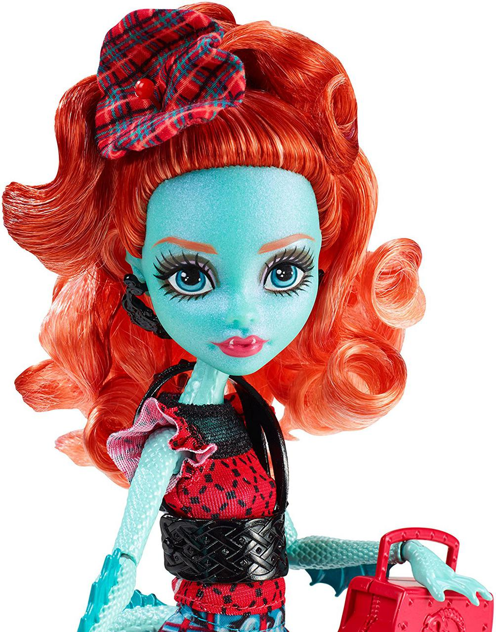 Лорна МакНесси серия Монстры по обмену Кукла Монстер Хай Monster High Lorna McNessie Monster Exchange