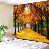 Avenue Tree Print Настенный висячий гобелен ширина59дюймов*длина51дюйм