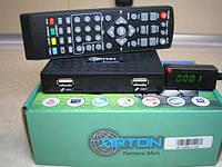 Эфирный цифровой приемник стандарта DVB-T/T2 ORTON PANTERA MINI T2+INTERNET