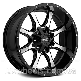 MOTO METAL MO970 Gloss Black with Milled Face