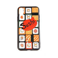 Tpu и Pc сотовый телефон Cameo Gird Sushi чехол для iPhone X / 7/8/7 Plus / 8 Plus Для iPhone 7/8