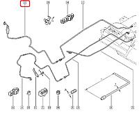 Топливная трубка с грушей подкачки на Renault Trafic 2.0dCi  с 2006... WUZETEM WIN0500165