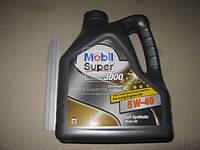 Масло моторное MOBIL SUPER 3000 Diesel 5W-40 API CF (Канистр 4л) (арт. 4107674944), AEHZX
