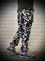 Камуфляжные брюки джоггеры
