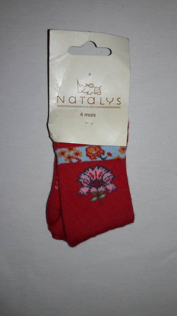 Носки Natalys 6мес. цветок
