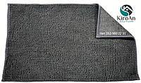 Набор ковриков в ванную комнату Лапша (Темно-серый)