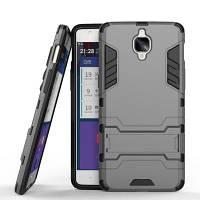 Защитный защитный чехол с двойным слоем защиты от защитного чехла с подставкой для OnePlus 3T / 3