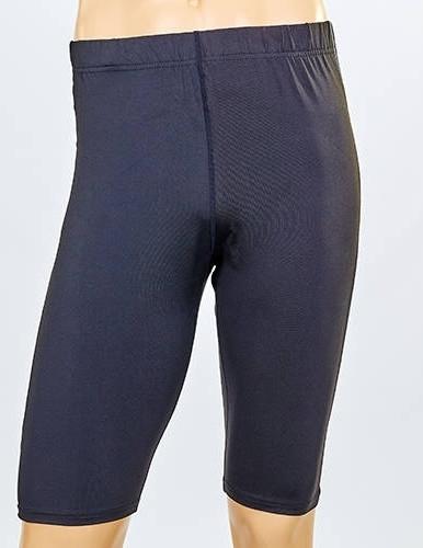 Мужские компрессионные шорты LD-1501-BK (черный/серый)