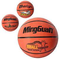 Мяч баскетбольный VA-0029, размер 7, резина, 580-600г, 8панелей, 3вида