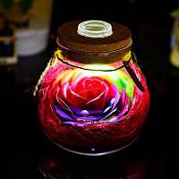 Светодиодная лампа роза RGB подарок на день рождения u0441u0442u0438u043bu044c 2
