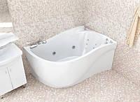 Гидромассажная ванна с врезным смесителем Triton Николь, 1600х1000х630 мм