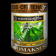 Семена огурца «Кураж F1» 100 г, инкрустированные (Агромакси)