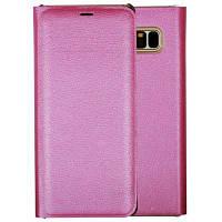 Кошелек Кошелек Оригинальный кожаный футляр с флип-картой Держатель для телефона с футляром для Samsung Galaxy Note8 розово-красный