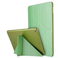Для iPad 2017 Модель корпуса A1822 A1823 9,7-дюймовая мягкая кожаная крышка с покрытием из поливинилхлорида Tipu Safe Smart Smart Зелёный