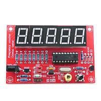 1 Гц-50 МГц Частотный измерительный прибор частотомер модуль измерения Красный