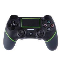 Беспроводное управление Bluetooth-контроллером для PlayStation 4 Slim / Pro Чёрный и зелёный