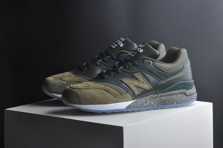 New Balance 997.5HBB Green. Кроссовки зеленого цвета. Стильные кроссовки. Качественные кроссовки.