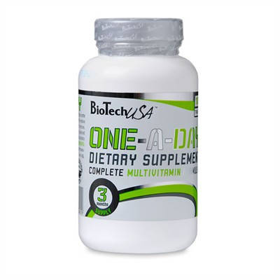 Витамины One Day Bio Tech 100tab, фото 2