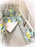 Набор детского постельного белья Пазлы ТМ Bonna, фото 1