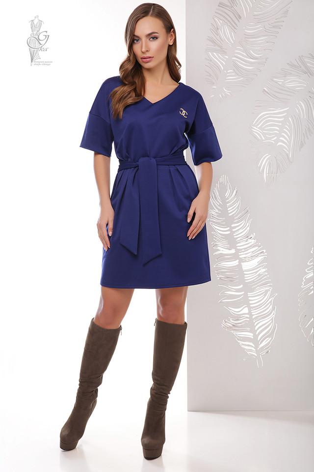 Фото Трикотажного женского платья Шанель-2