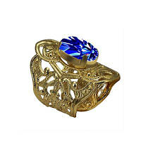 Женская мода Открытие Кольца с бриллиантами позолоченные ювелирные изделия с шармом