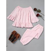 Набор оборванных текстурных пижам один размер