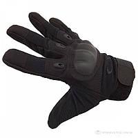 Тактичні рукавички захисні з пальцями OAKLEY, чорні