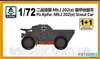 Pz.Kpfw. Mk.I 202 [e] Scout Car 1/72 S-MODEL 720053