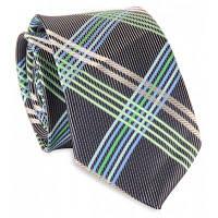 6см Ширина полоски крест украшен галстук Зелёный