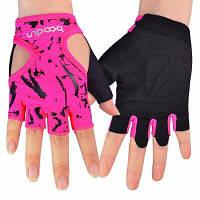 Женские спортивные износостойкие перчатки для йоги тяжелой атлетики упражнений M