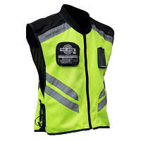 Riding Tribe Светоотражающий жилет для мотоцикла флуоресцентная защитная одежда для водителя XL
