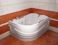 Гидромассажная ванна с врезным смесителем Triton Респект, 1800х130х600 мм