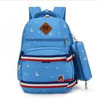 GANJOY рюкзак с пеналом для досуга голубое небо