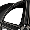 NICHE APEX Black with Machined Face and Double Dark Tint, фото 2