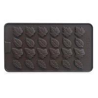 Creative Cake Mold оставляет силиконовый хлебный инструмент 2PCS загар