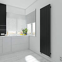 TERMA Дизайн радиатор TRIGA 1700*580, Black