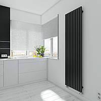 TERMA Дизайн радиатор TRIGA 1700*480, Black, фото 1