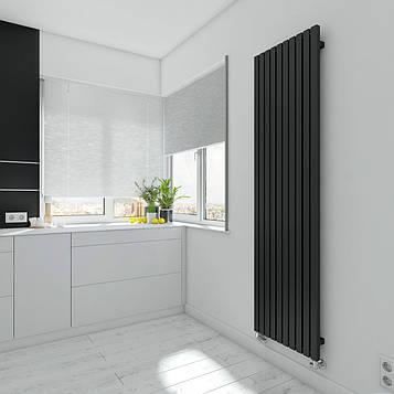 TERMA Дизайн радиатор TRIGA 1700*480, Black