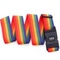 00154 эластичный прочный багажный ремень безопасности Цветной