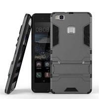 2 в 1 брелок для телефона для Huawei P9 Lite Серый