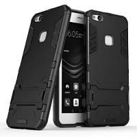 2 в 1 брелок для телефона для Huawei P10 Lite Чёрный