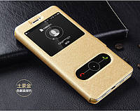 Чехол Window для Samsung Galaxy J1 Mini J105 книжка  gold