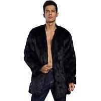 Пальто из натуральной шерсти с плюшевым покрытием XL
