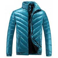Зимняя одежда Воротник Мужчины Досуг Модное яркое лицо Более спортивное теплое хлопчатобумажное пальто 3XL