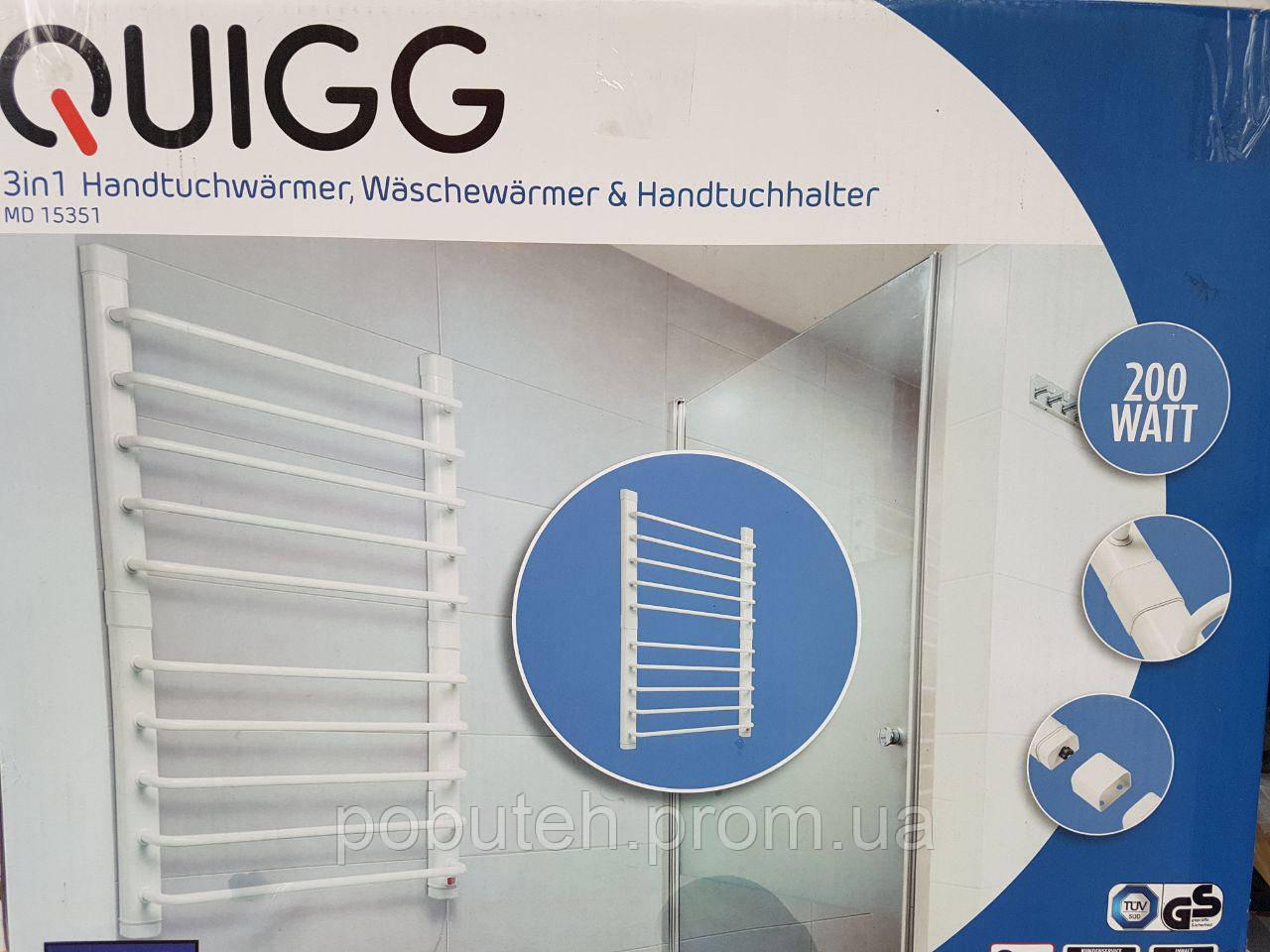 Полотенцесушитель электрический QUIGG MD 15351 (Германия)