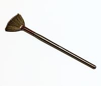 Веерная кисть (для смахивания сухих частичек косметики с лица) SPL 97511
